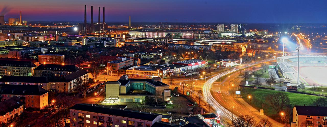 Wolfsburg Skyline